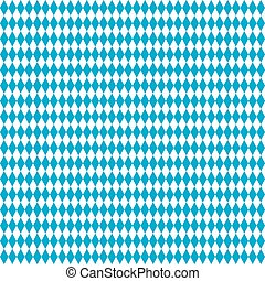 Seamless Rhombus Structure Bavarian National Colors -...