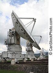 Millimeter array of Nobeyama radio observatory in Japan