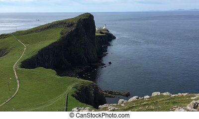 View of Neist Point, Isle of Skye, Scotland - A View of...