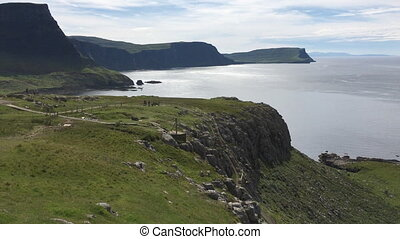 View at Neist Point, Isle of Skye, Scotland - A View at...