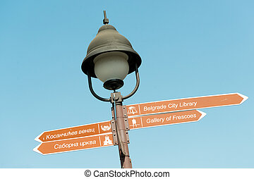 Directions to Belgrade sights