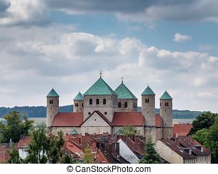 St. Michaelis church in Hildesheim, Germany