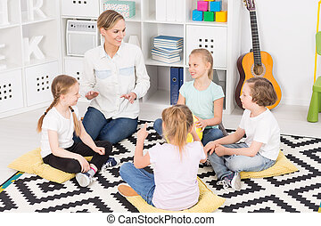 Colourful music classes in a friendly school - Small group...