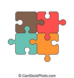 puzzle jigsaw piece - puzzle piece game jigsaw part elements...