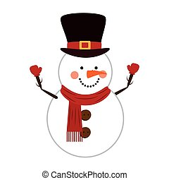 snowman christmas cartoon