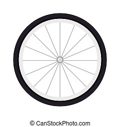 wheel bike tire - wheel bike bicyclist sport spoke object...