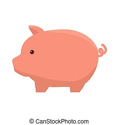 piggy moneybox cartoon - piggy pig moneybox cartoon...