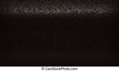 TV Static Noise Jumpy HD - High definition animated loop of...