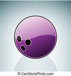 Bawling Ball (part of the 3D Isometric Objects Icons Set)