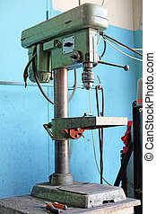 drilling machine - The image of a drilling machine