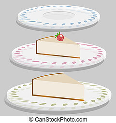 Strawberry Cheesecake Plate