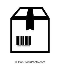 box barcode with serial number data information scanner...