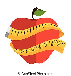 apple fruit meter lifestyle - apple fruit food meter...