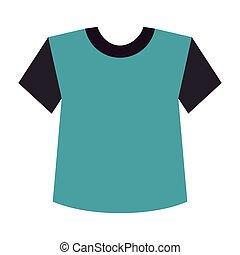 blue t shirt clothes
