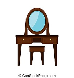 dressing table wooden