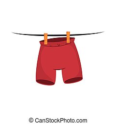 pant clothes hanging laundry - clothes laundry pants hanging...