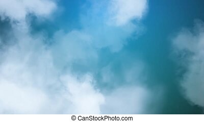 Clouds over Blue Sky HD Loop
