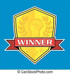 The Winner Badge