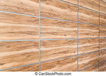 Texture simulated wood panels, perspective