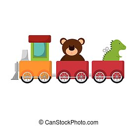 train toy kid - train wagon toy kid game child entertainment...