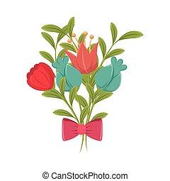 flower bowtie garden decoration design - flower bowtie...