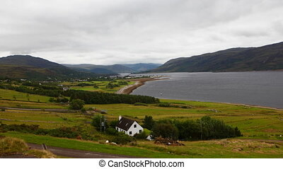 Timelapse view of Ullapool in Scotland - A Timelapse view of...