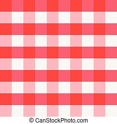 red checkered tablecloth texture