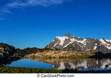 Mt.Shuksan - Mount Shuksan in Washington, USA