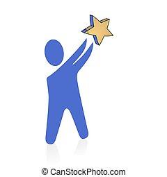 Star to catch