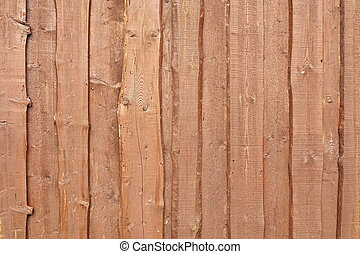 Natural Color Barn Timber Wall Made From Rough Overlapped...
