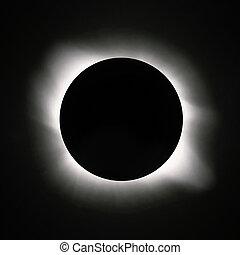 Sun eclipse - Total sun eclipse