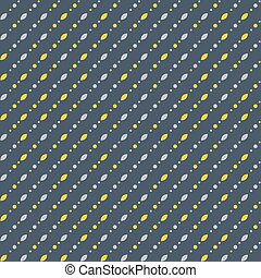 Abstract geometric pattern, small spots and dots. Seamless...
