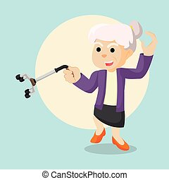 old woman kung fu