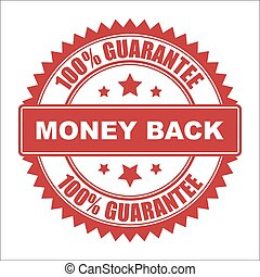 Money back seal - 100 Money back guarantee