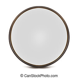 optical filter ( lens ) - Vintage optical filter isolated on...