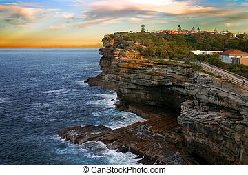 The Gaps, Watson Bay, Sydney - The Gap, a spectacular ocean...