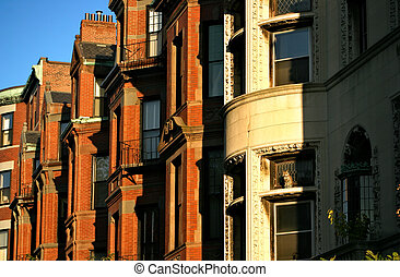Back Bay, Boston - Back Bay and neighboring Beacon Hill are...