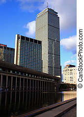 Prudential Center, Boston - The Prudential Tower...