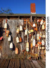 Lobster buoys