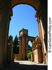 Palace of Fine Arts, San Francisco - The Palace of Fine Arts...