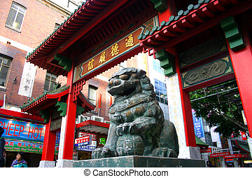 Sydneys Chinatown is an urban locality in the southern part...