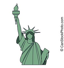 independence statue usa landmark design
