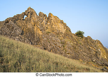 Ancient rock, geological reservation - Geological...