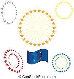 Gold Star Circle