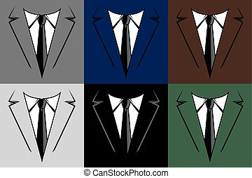 Formal Business Suit & Tie