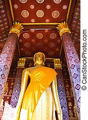 Standing image of Buddha