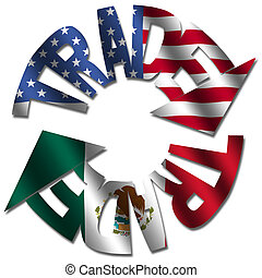 American Mexican trade