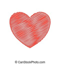heart love romatic passion icon. Vector graphic - heart...