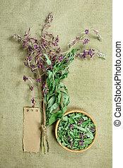 FireweedDried herbs Herbal medicine, phytotherapy medicinal...