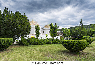 Khan's palace in Bakhchisarai. The Crimea. Stock photo